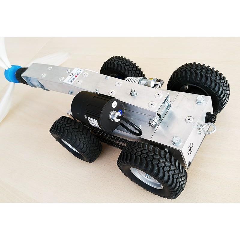 Evclean xl robot de limpieza de conductos de aire evclean xl - Robot de limpieza a vapor ...