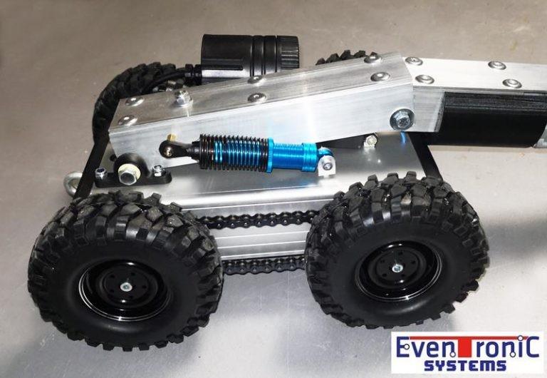 Robot de limpieza de conductos